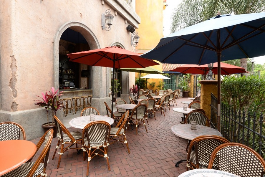 Colorful Patio Dining Chairs